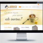 Criação de site para Amora Indústria de Aquecedores e Bebedouros