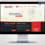 Proposta de site para Brasil Sul Marcas e Patentes