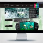 Criação de site para Mais Games Curitiba