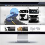 Criação de site para TSL Transportes, de Brusque SC